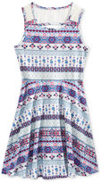 Epic Threads Lace-Back Skater Dress, Big Girls (7-16), Only at Macy's