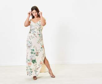 Oasis Ruffle Bridesmaid Dress