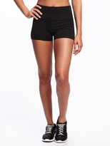 Old Navy Go-Dry High-Rise Compression Shorts for Women