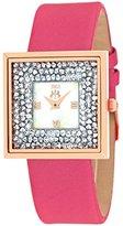 Jivago Women's JV7413 Brilliance-S Analog Display Quartz Pink Watch