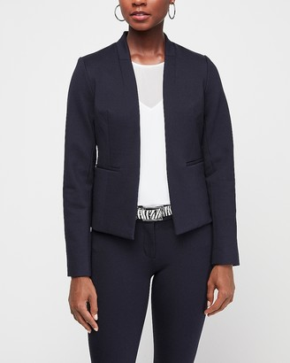 Express Inverted Collar Blazer
