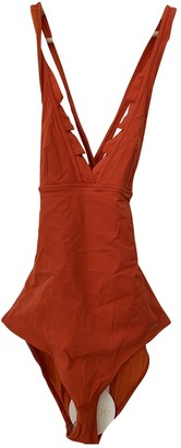 Chloé Orange Cotton - elasthane Swimwear