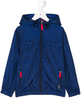Ralph Lauren hooded windbreaker jacket - kids - Polyester/polyester - 2 yrs