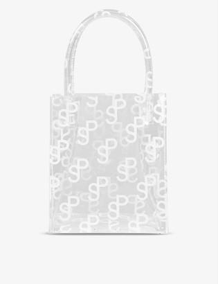 Saks Potts Mob mini monogram PVC top-handle bag