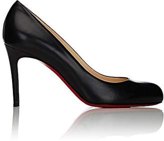 Christian Louboutin Women's Simple Nappa Leather Pumps - Black