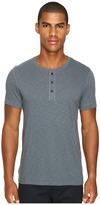 Vince Short Sleeve Henley Men's T Shirt