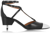 Givenchy Maremma Leather Point-toe Pumps - Black