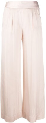Max & Moi High Waisted Wide Leg Trousers