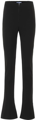 Thierry Mugler High-rise slim pants