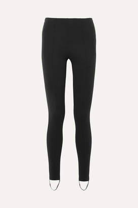 Balenciaga Jogger Fuseau Stretch-ponte Stirrup Leggings - Black
