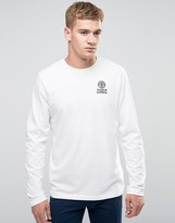 Franklin & Marshall Crest Logo Long Sleeve T-Shirt