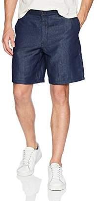 Armani Exchange A|X Men's Washed Denim Style Shorts