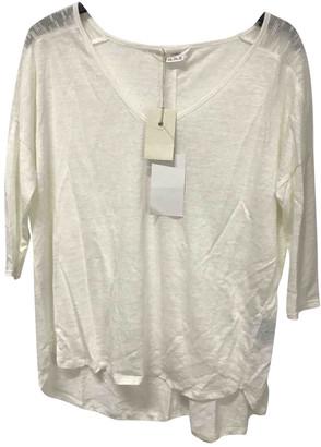 Charli White Linen Knitwear