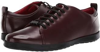 HUGO BOSS Flat Casual Derby by HUGO (Dark Red) Men's Shoes