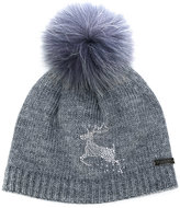 Norton Co. pom pom reindeer hat