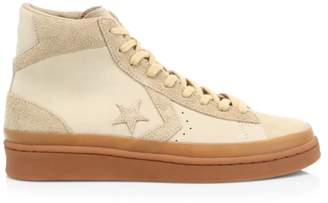 Converse Pro Leather Mid 2000 Era Suede Sneakers