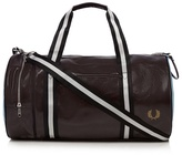 Fred Perry Dark Red Classic Barrel Bag