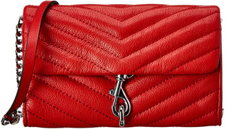 Rebecca Minkoff Edie Leather Wallet On Chain