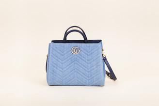 Gucci Small Pearl Marmont Shoulder Bag