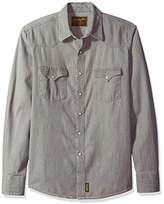 Wrangler Men's Retro Snap Front Long Sleeve Shirt