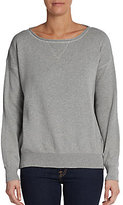 Interlock Cotton Sweatshirt