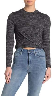 Cotton On Devon Twist Front Long Sleeve Sweater