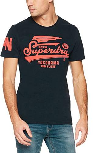 Superdry Men's Retro High Flyers Tee T-Shirt