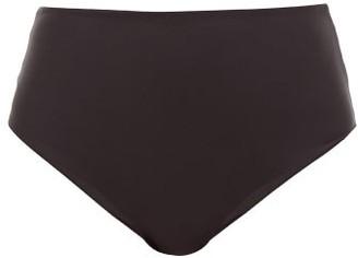 JADE SWIM Bound High-rise Bikini Briefs - Womens - Black