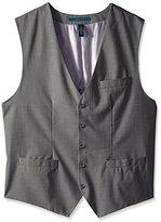 Perry Ellis Men's Big-Tall Solid Texture Suit Vest