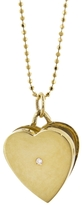 Jennifer Meyer Diamond Locket Pendant Necklace - Yellow Gold