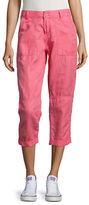 Calvin Klein Jeans Cropped Linen Pants