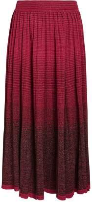 Ulla Johnson Billie Gradient Pleated Skirt