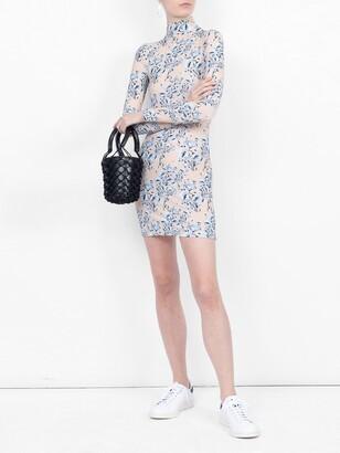 Vetements floral bodycon dress