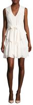 L'Agence Gabby Tiered Skirt Mini Dress