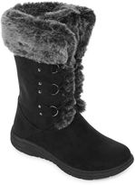 ST. JOHN'S BAY St. John's Bay Chase Faux-Fur Weather Boots