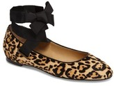 Splendid Women's Renee Ii Genuine Calf Hair Ankle Tie Flat