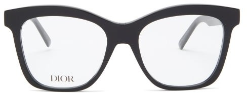 Christian Dior 30montaignemini Butterfly Acetate Glasses - Black