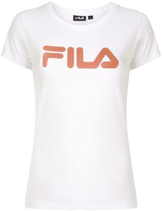 Fila 3D glitter print T-shirt