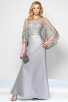 Alyce Paris Black Label - 5806 Long Dress In Silver