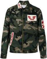 Valentino camouflage military jacket - men - Cotton/Polyester/Viscose - 48