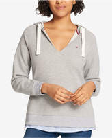 Tommy Hilfiger Layered-Look Hoodie, Created for Macy's