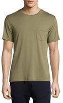 Ralph Lauren Pima Cotton Pocket T-Shirt, Sage Green
