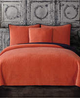 Tracy Porter Reversible Velvet Quilted Full/Queen Coverlet Bedding