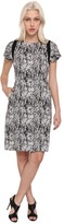 Rachel Roy Square Shoulder Dress