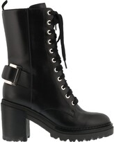 Thumbnail for your product : Sergio Rossi Lace-Up Heeled Boots