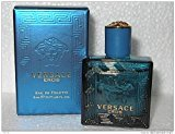 Versace Eros by 0.17 oz (5 ml) EDT Splash Men Mini NEW IN BOX