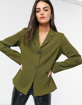 Vila soft blazer in khaki