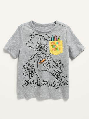 Old Navy Short-Sleeve Graphic Pocket Tee for Toddler Boys