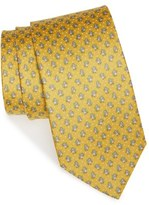 Salvatore Ferragamo Men's Penguin Print Silk Tie