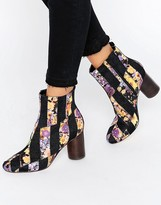 Asos RATTLE Patch Work Ankle Boots